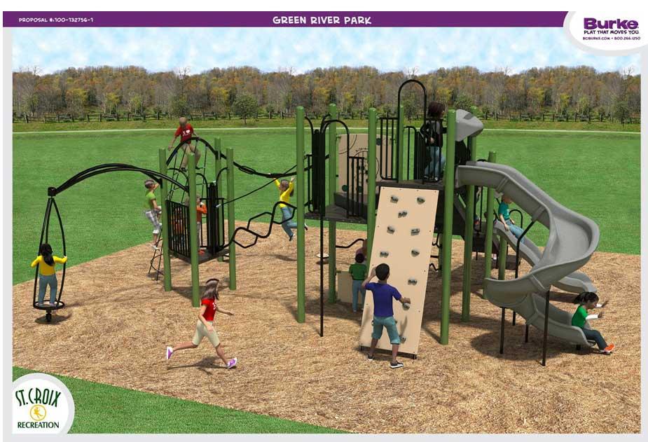 Playground Greenriver Park